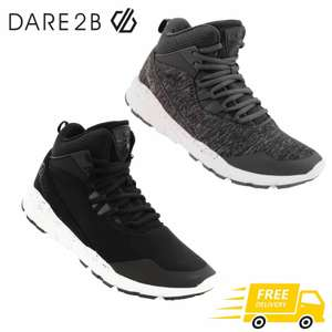 2x Pairs Women Dare2b Uno Mid Trainers - 1 pair black & 1 pair grey, £19,99 Delivered portstewart-clothing-company @ eBay