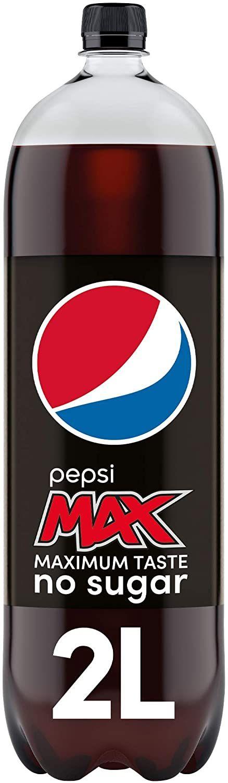 Pepsi Max 2L - £1.48 (+£4.49 Non-Prime) @ Amazon