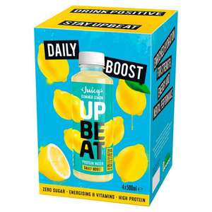 Daily Boost 12g Protein Water - 20p Instore @ Sainsbury's (Darnley)