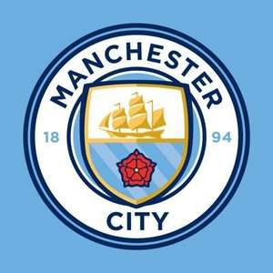 Upto 60% off Wear your colours with pride | Mini kits offer & More £4.95 delivery @ Man City Store