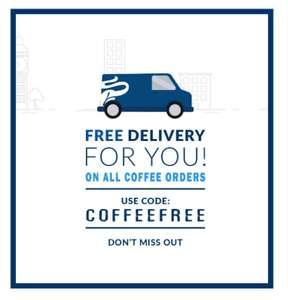 Free delivery with code @ Tchibo Coffee