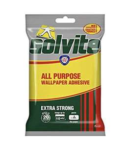 Solvite All-Purpose Wallpaper Adhesive 185g - £2 Prime (+4.49 Non Prime) @ Amazon