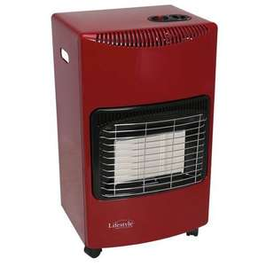 Large Gas Cabinet Heater (Fire Red) delivered with code @ Go Outdoors