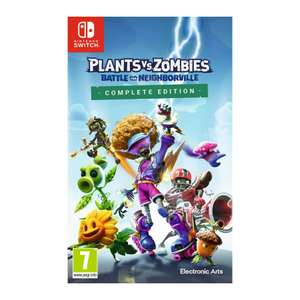 Plants vs Zombies: Battle for Neighborville: Nintendo Switch £28.95 via The Game Collection