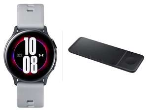 Samsung Galaxy Watch Active2 Under Armour Edition, - 40mm - Grey + Free Wireless Charger Trio - £193 @ AO