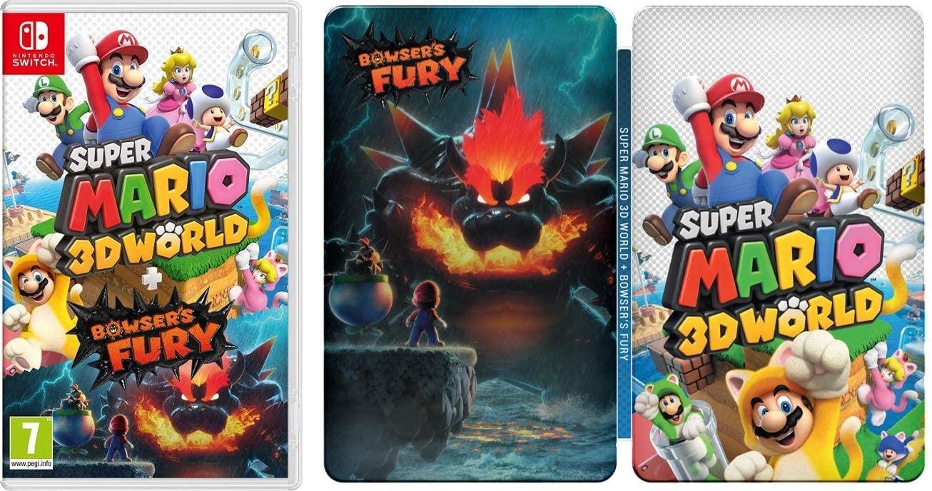 Super Mario 3D World + Bowser's Fury (Nintendo Switch) + Steelbook £44.99 at Amazon