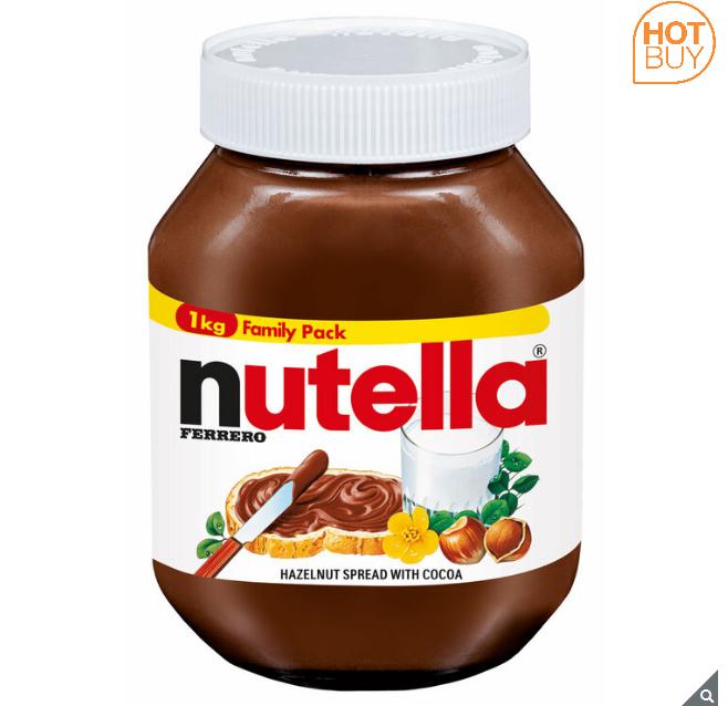 Nutella Hazelnut Spread 1kg £3.89 @ Costco Warehouse Glasgow