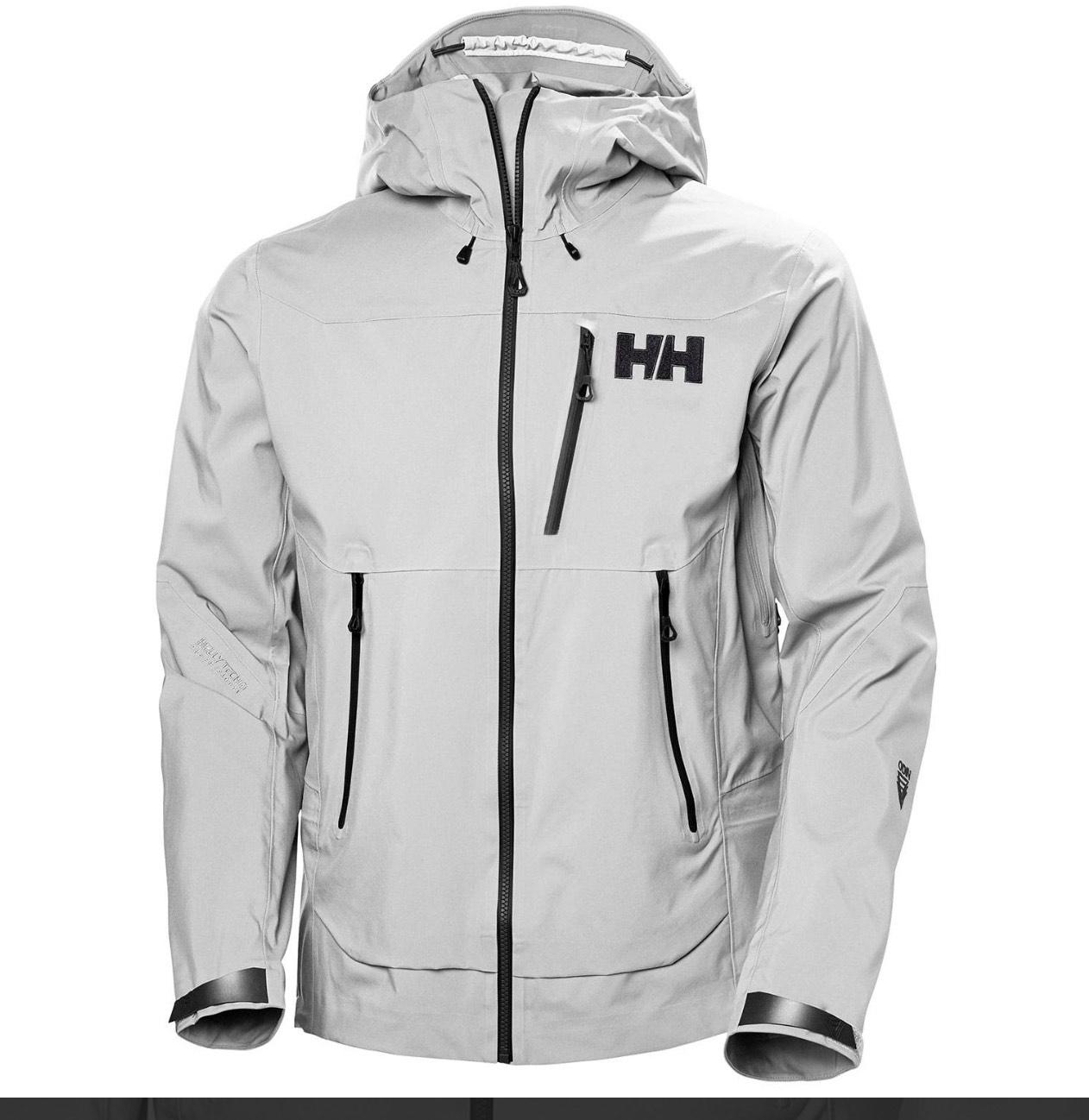 Helly Hansen Mens Odin Infinity Shell Jacket Grey Fog - £300 @ Trekitt