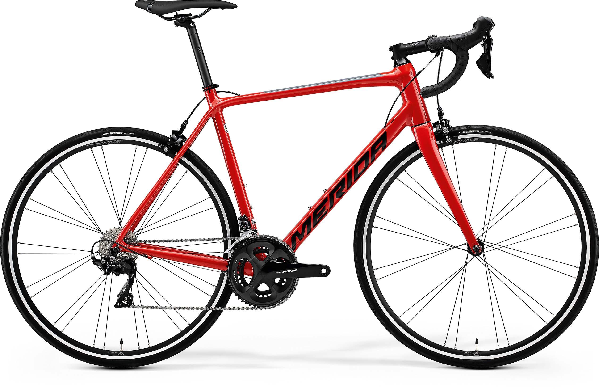 Shimano 105 R7000 - 2021 Merida Scultura 400 Road Bike in Red £1000 delivered @ De Ver Cycles