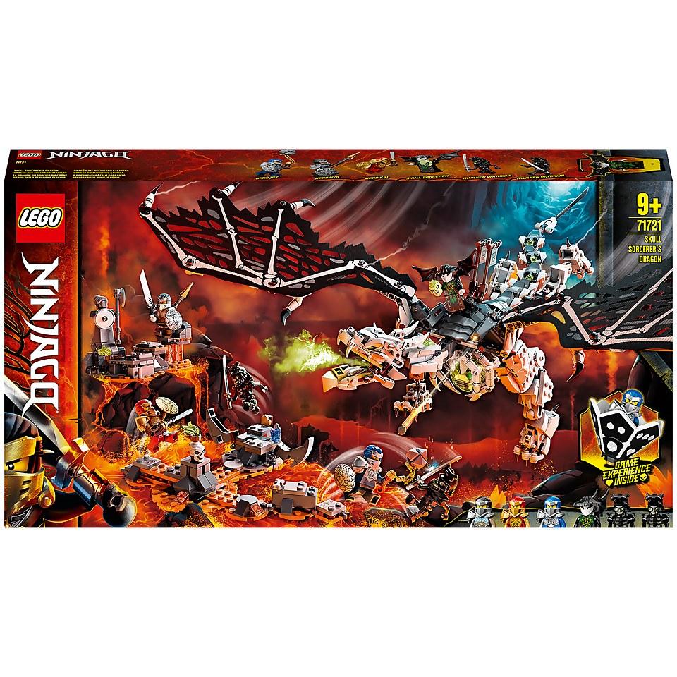 LEGO NINJAGO 71721 Skull Sorcerer's Dragon Board Game Set £54.99 at IWOOT