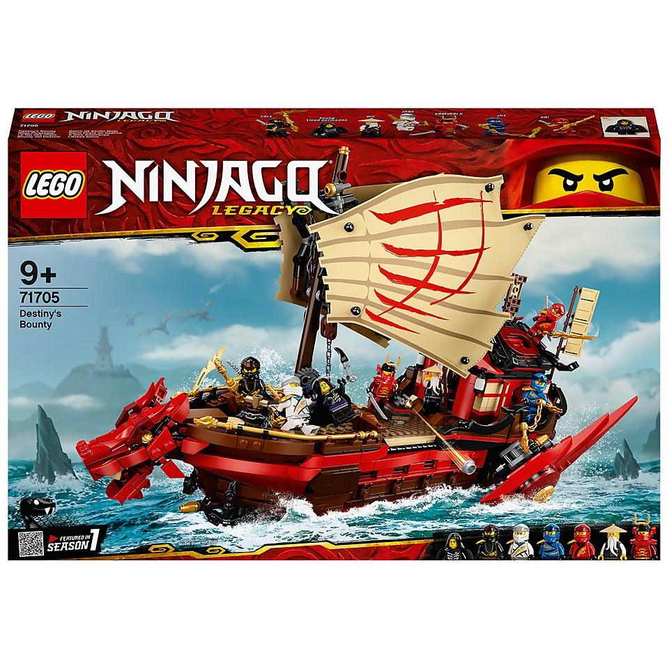 Lego Ninjago 71705 Legacy Destiny's Bounty Ship Set £79.99 @ IWOOT