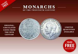 Claim your FREE King George V Silver = £2.50 Delivery @ London Mint Office