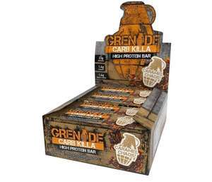 Grenade Carb Killa Caramel Chaos £15 (+£4.49 Non Prime) @ amazon