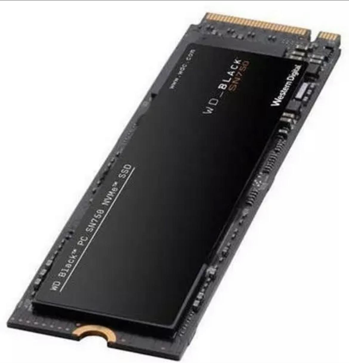 WD Black SN750 M.2 SSD 500GB £59.99 @ box / eBay