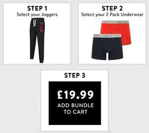 Men's Joggers + 2 Boxer Shorts for £19.99 (+£1.99 Delivery) @ Tokyo Laundry