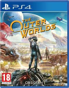 The Outer Worlds - PS4 - ex rental (pristine) only £12.00 delivered from Boomerang Rentals