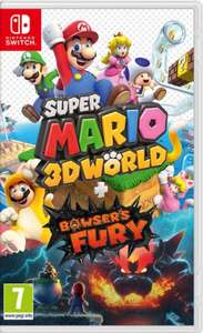 Super Mario 3D World + Bowsers Fury (Nintendo Switch) - £39.99 delivered @ Smyths Toys