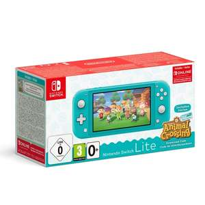 Nintendo Switch Lite Turquoise or Coral + Animal Crossing + Nintendo Switch Online 3 Month Membership Bundle £199.99 @ Smyths