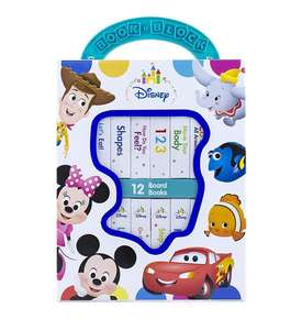 Disney first library set of 12 books £5 Asda online (+ delivery / minimum basket charges apply)