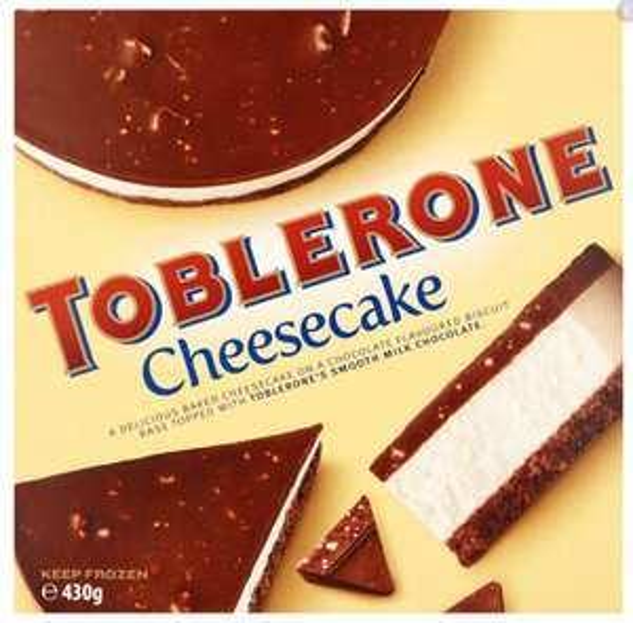 Toblerone cheesecake 430g for £2.99 in Lidl (South Ruislip)