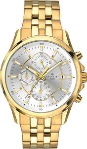 Accurist Mens Stainless Japanese Quartz Sports Chronograph With Silver Sunray Dial, Date Display, 50m Water Resistant - £68 @ Amazon