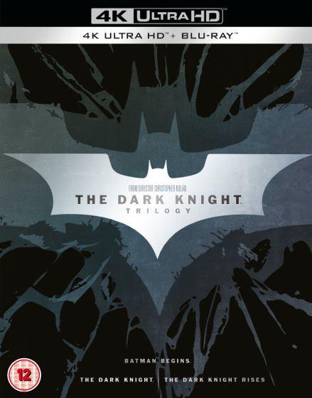 The Dark Knight Trilogy (4K Ultra HD + Blu-Ray) £31.99 delivered @ Warner Bros Shop