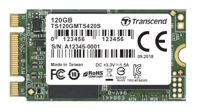 Transcend 120GB SATA III 6Gb/s MTS420S 42mm M.2 SSD420S Solid State Drive - £15.96 / (+£4.49 Non Prime) delivered @ Amazon EU