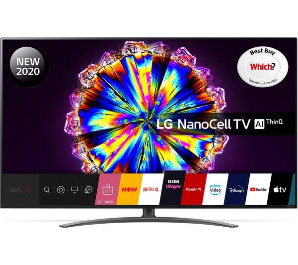 "LG 55NANO916NA 55"" Smart 4K Ultra HD HDR LED TV Google Assistant & Amazon Alexa + 5 Year Guarantee + 5 months Apple Music"