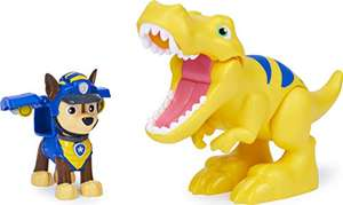 PAW Patrol Dino Rescue Chase and Dinosaur Action Figure Set £7.50 (+£4.49 non-prime) @ Amazon