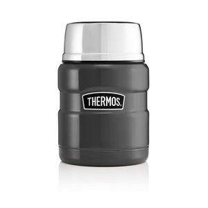 Thermos King Food Flask 470ml, Gunmetal Grey - £13.33 (+ Delivery Charge / Minimum Spend Applies) @ Sainsbury's