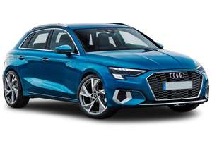 Audi A3 Sportback lease S line 5dr Petrol Manual - 8k Miles PA - £249 a month for 48 months + £210 up front (£12,162 Total) via LeaseLoco