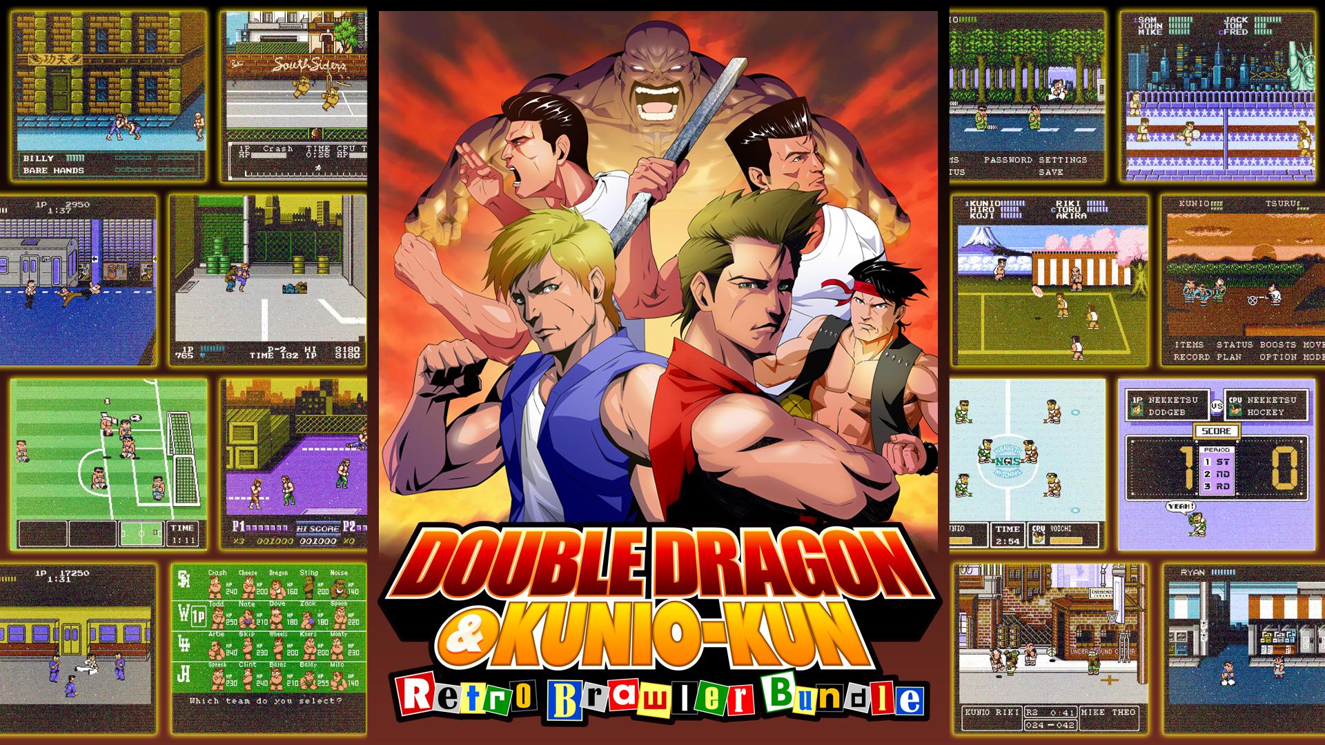 [Nintendo Switch] Double Dragon & Kunio-kun: Retro Brawler Bundle (18 Games) - £14.26 @ Nintendo eShop US