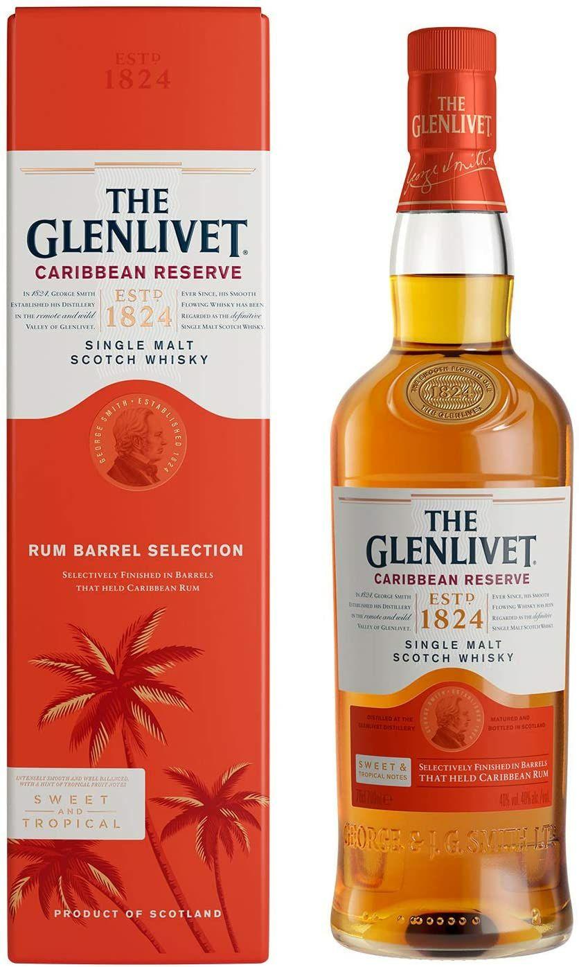 The Glenlivet Caribbean Reserve Single Malt Whisky 70 cl £26 @ Amazon