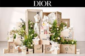 Complimentary House of Dior fragrance sample box at Boots Sampling