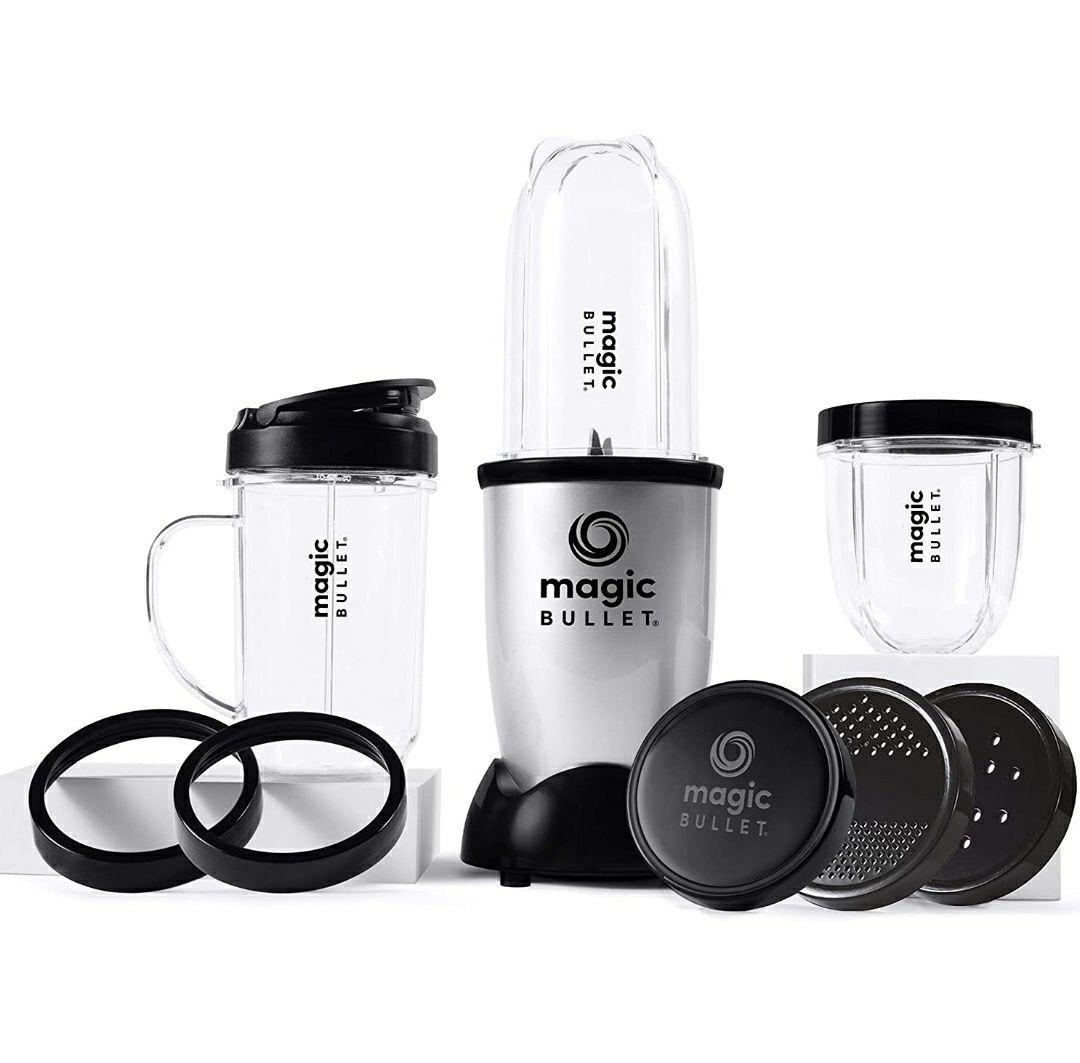 NUTRiBULLET Magic Bullet Deluxe Blender, Mixer & Food Processor, Silver £34.99 @ Amazon