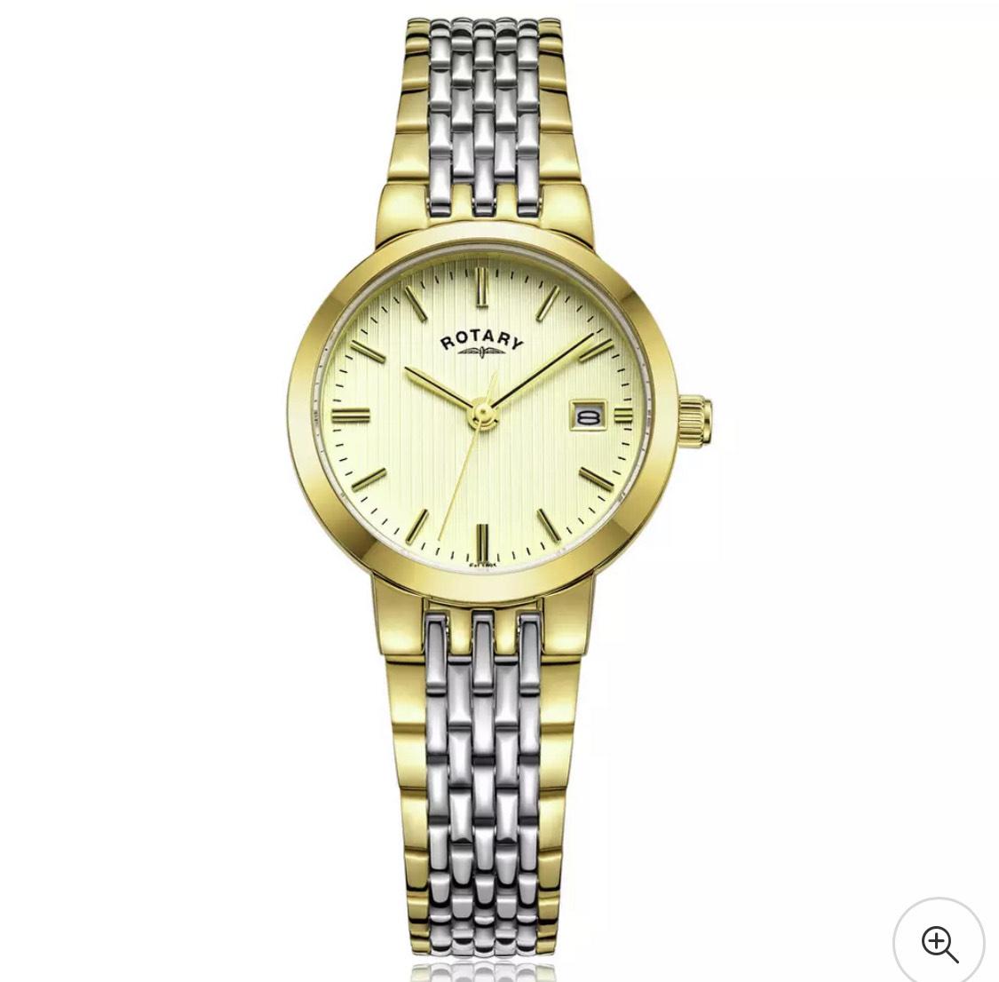 Rotary Ladies Two Tone Stainless Steel Bracelet Watch £37.99 @ Sam0989 eBay