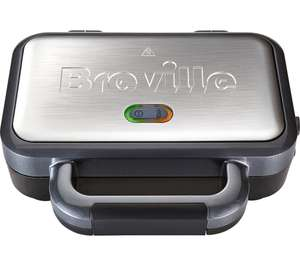 Breville Deep Fill Sandwich Toaster and Toastie Maker with Removable Plates, Non-Stick, Stainless Steel £21.99 Delivered @ Currys