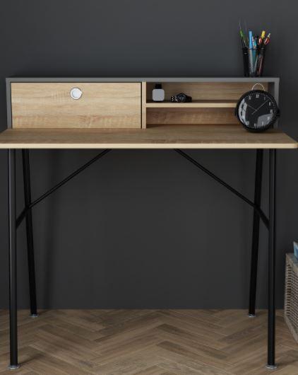 Industrial Study Desk £59.99 + £9.95 del @ The Range