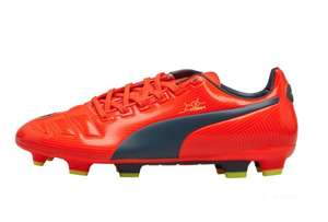 Puma Mens evoPOWER 3 FG Football Boots Peach/Blue/Yellow size 7.5 £9.99 + £4.99 delivery @ mandM direct