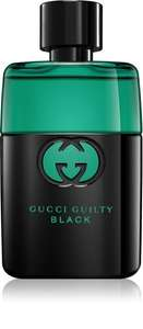 Gucci Guilty Black Pour Homme EDT 50ml £35.49 delivered at Notino