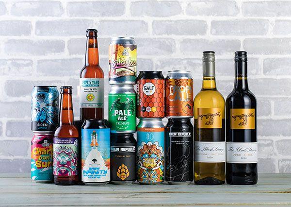 12 Hoppy Beers and 2 Bottles of Wine £15 @ Laithwaites