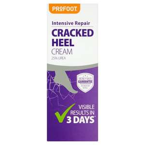 Profoot Cracked Heel Cream 60Ml £4 at Tesco (+ Delivery Charge / Minimum Spend Applies)