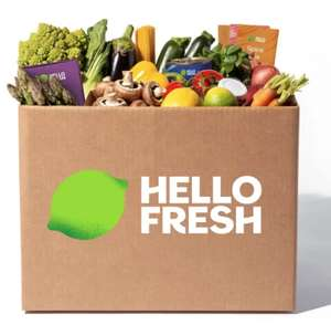 Hello Fresh - 60% off first + free postage & 35% off next 3