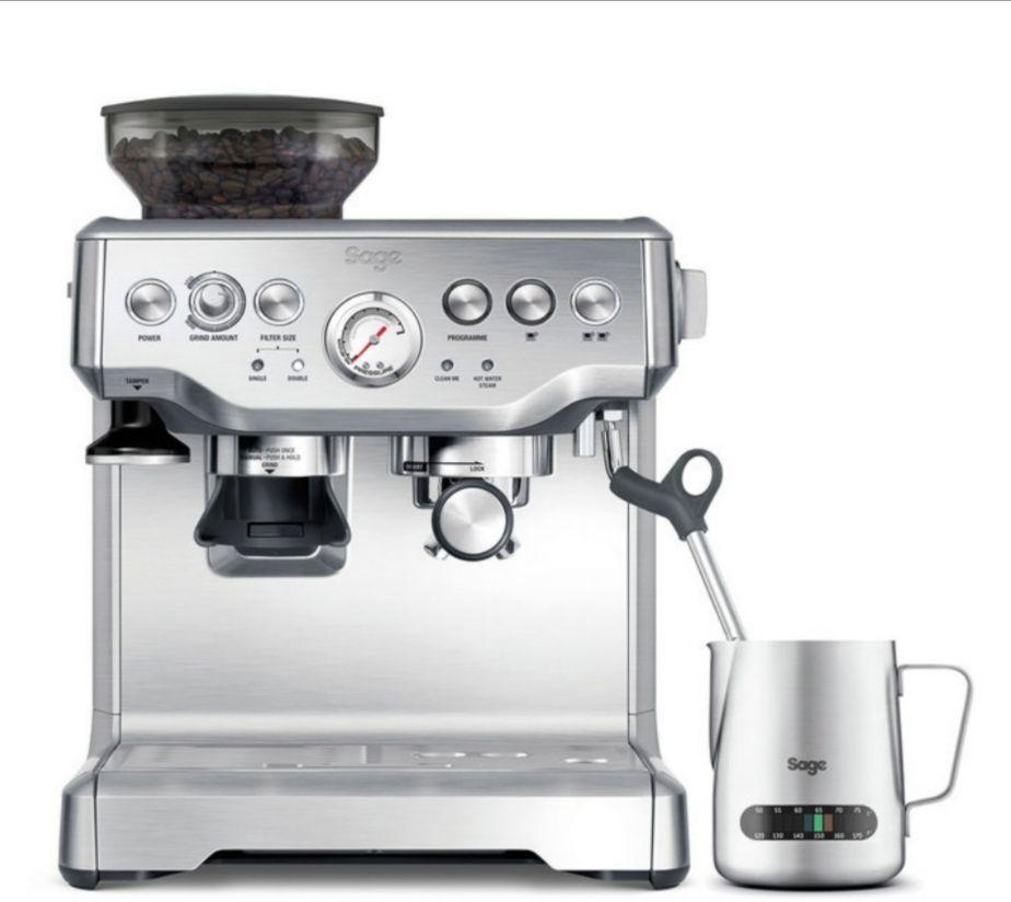 Sage Barista Express Bean to Cup Coffee Machine Including Milk Jug BES875UK £484.99 @ Costco
