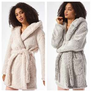 Ombré Supersoft Robe (2 Colours XS - XL) £8.84 / Fur Robe (3 Colours XS - XL) £10.19 With Code & Free Next Day Delivery @ Dorothy Perkins
