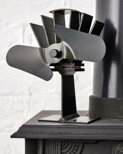 Workzone Stove Fan for £15.99 (+£2.95 delivery) at Aldi