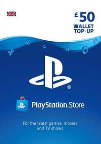 PlayStation Network Card 50 GBP (UK) £40.70 using code @ Eneba / Obsidian Codes