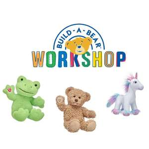 Free shipping today only with code - no minimum spend - Items from £1.20 @ Build-a-Bear Workshop