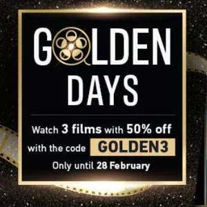50% off up to 3 Films (Buy/Rent) w/ code @ Chili