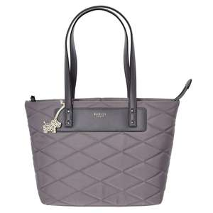 Radley Grey Charleston Quilt Tote Bag now £39.99 + £3.99 delivery @ TK Maxx